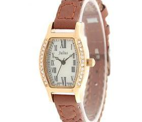 Roman Style Leather Braid Belt Watch